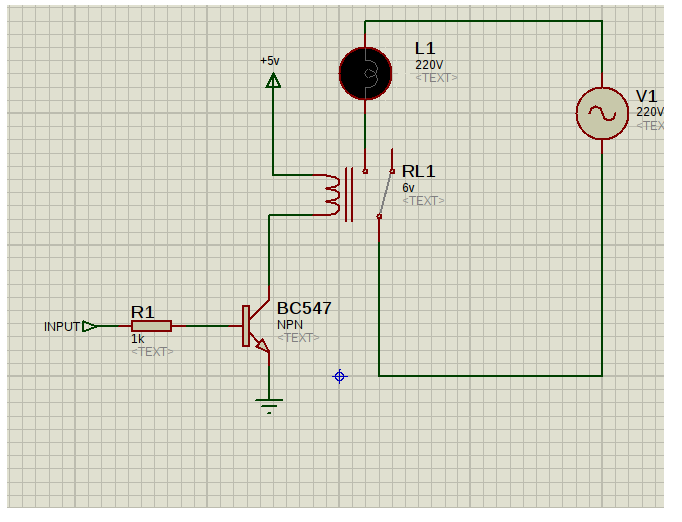 Switching Relay Circuit